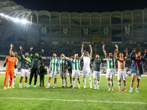 Konyaspor - Bursaspor maçından yansıyanlar