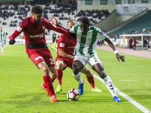 Konyaspor - Gaziantespor maçından yansıyanlar