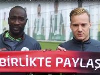 Yatabare ve Deni Milosevic'ten EURO 2024'e destek (VİDEO)